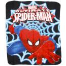 Großhandel Bettwäsche & Decken: Spiderman, Decke 120x140 cm.