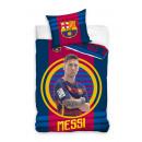Messi FC Barcelona biancheria letto 160 x 200 cm.