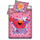 wholesale Bed sheets and blankets: Sesame Street, Elmo Love - bed linen and children.