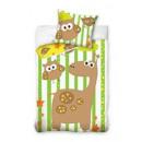 Großhandel Bettwäsche & Matratzen: Bettwäsche Kinder, Giraffe, 100x135 cm.