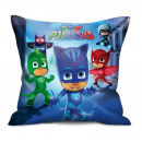 wholesale Cushions & Blankets: Pillow Decorative PJMasks. Blue.