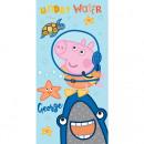 wholesale Towels: George - Peppa Pig bath towel 70x140 cm