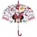 wholesale Umbrellas: Manual umbrella DisneyMinnie Mouse 42 cm
