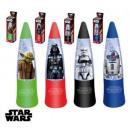 Star Wars, lampada a LED con glitter.