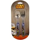 Großhandel Haushaltswaren: Star Wars, Besteck für Kinder.