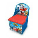 wholesale Children's Furniture: Toy box and high chair - Super Wings .