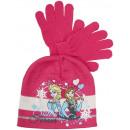 Großhandel Lizenzartikel: frozen , Winter - Set - Hut, Handschuhe.