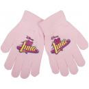 Soy Luna , guantes pięciopalczatki para las niñas