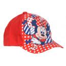 mayorista Bufandas, gorros & guantes: Gorra roja Minni Mouse para niña