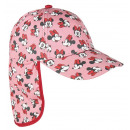 wholesale Fashion & Apparel: Summer hat with a visor and neck protector pink M