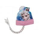 wholesale Scarves, Hats & Gloves: Winter hat with braid. Disney frozen - Elsa.