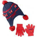 wholesale Licensed Products: Minnie Mouse Cap and Glove for Girl.