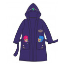 Bathrobe with a hood for girls Shimmer and Sh