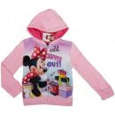 hurtownia Produkty licencyjne: Disney, Minnie  Mouse, bluza z kapturem na zamek.