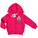 grossiste Articles sous Licence: Sweat à capuche zippé Minnie Mouse.