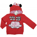Mouse Minnie, felpa con cappuccio per le ragazze