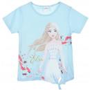 Großhandel Lizenzartikel: T-Shirt für ein Mädchen Disneyfrozen Elsa
