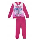 Großhandel Kinder- und Babybekleidung: Rosa, warmes zweiteiliges Set für Mädchen