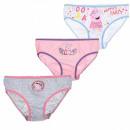 3-pack panty set Peppa Pig