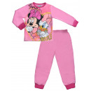Pink pyjamas two-piece with long sleeves Minnie