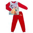 Red girl's two-piece pajamas Princess
