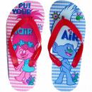 wholesale Shoes: Trolls, flip flops for girls.