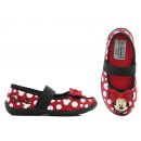 wholesale Shoes: Minnie Mouse slippers, Mini Mouse ballerinas.