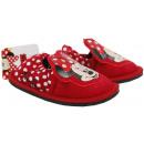 grossiste Articles sous Licence: Disney souris  Minnie, pantoufles pour les filles.