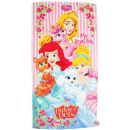 wholesale Towels: Disney Princess, towel 70x140 cm.