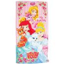 nagyker Törölközők: Disney Princess, törülköző 70x140 cm.
