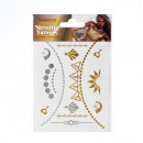 Metallic Tattoo - Din A6 - Design 1