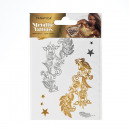 groothandel Piercings & tattoos: Metallic Body Tattoo DIN A6 14