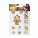 groothandel Piercings & tattoos: Metallic Body Tattoo DIN A6 16