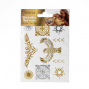 Metallic Tattoo - Din A6 - Design 2