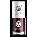 wholesale Nail Varnish: X-241, CF Gel Effect, red / black,