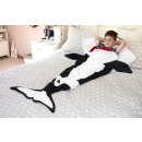 hurtownia Posciel & materace: Dywan Snug-Killer Whale Tail Koc