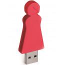 groothandel Opslagmedia: E-my 4 GB USB Stick Moeder - Rood