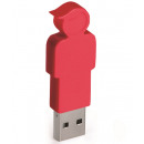 groothandel Opslagmedia: E-my 4 GB USB Stick Zoon - Rood