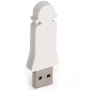 groothandel Opslagmedia: E-my 4 GB USB Stick Dochter - Wit