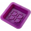 wholesale Casserole Dishes and Baking Molds: Form cake with  Pastry bag Square (Purple)