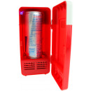 mayorista Informatica y Telecomunicaciones: Refrigerador de  escritorio USB con luz LED - Rojo