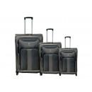 Großhandel Taschen & Reiseartikel: Reisekoffer 3er 009-3 grau