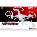 Quadrocopter 2,4GHz 169 in red