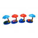 grossiste Articles Cadeaux:Solaire secouer parasol