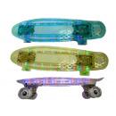 Penny Board Mini Skateboard transparent 56cm with