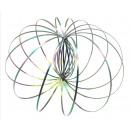 wholesale Rings: Kinetic 3D Spring Magic Ring (Rainbow)