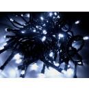 grossiste Chaines de lumieres: Guirlande LED  lumières de Noël 10m blanc froid ave