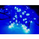 grossiste Chaines de lumieres: Chaîne légère Noël  LED bleu 10m avec 96 Leds