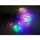 grossiste Chaines de lumieres: LED Noël chaîne  étoiles 3,8m de lumière avec LED 3