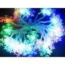 groothandel Lichtketting: Sneeuwvlok LED  Christmas Lights met 3,8m